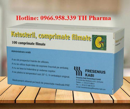 Thuốc ketosteril 600mg tablets. đạm thận Đức, giá bao nhiêu mua ở đâu