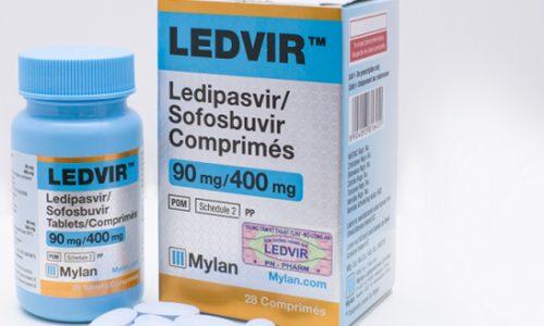 Thuốc Ledvir điều trị viêm gan C giá bao nhiêu mua ở đâu
