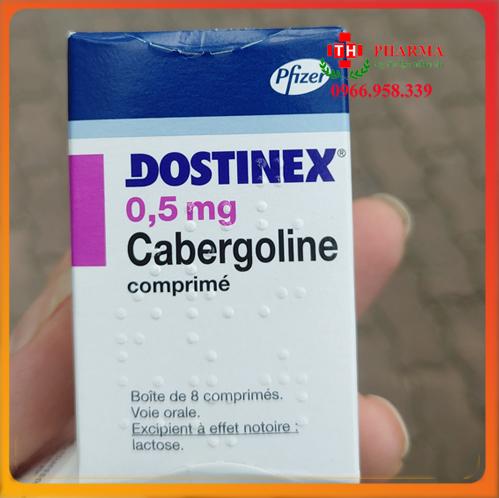 Thuốc Dostinex 0.5mg trị Prolactin máu cao thuốc Cabergoline của Pháp, Thổ Nhĩ Kỳ.Thuốc Dostinex 0.5mg chính hãng mua ở đâu, giá bao nhiêu