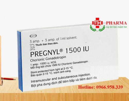 Thuốc Pregnyl 5000IU 1500IU mua ở đâu giá bao nhiêu
