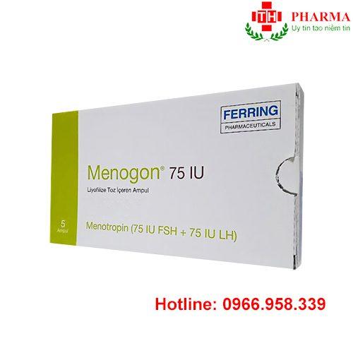 Thuốc menogon 75IU mua ở đâu giá bao nhiêu