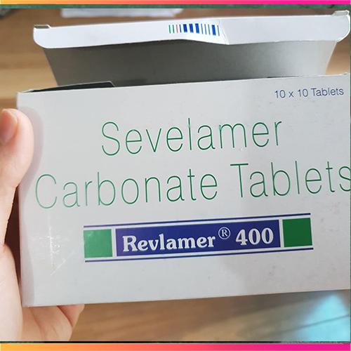 Thuốc Revlamer 400mg. thuốc hạ Phosphat máu