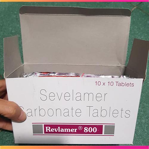 Thuốc Revlamer 800mg, 400mg thuốc hạ Phosphat máu