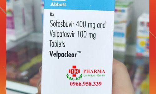 Thuốc Velpaclear trị viêm gan C mua ở đâu giá bao nhiêu